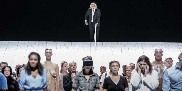 Moses und Aron, Semperoper Dresden, 29 September 2018