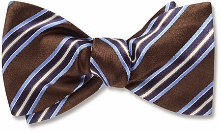 Bates bow tie from Beau Ties Ltd.