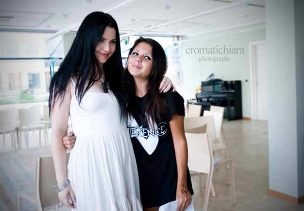 Evanescence Perú | Blog: FOTOS: Amy lee en Milan- Italia ...
