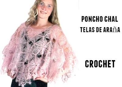 Patron Crochet Chal Telaraña