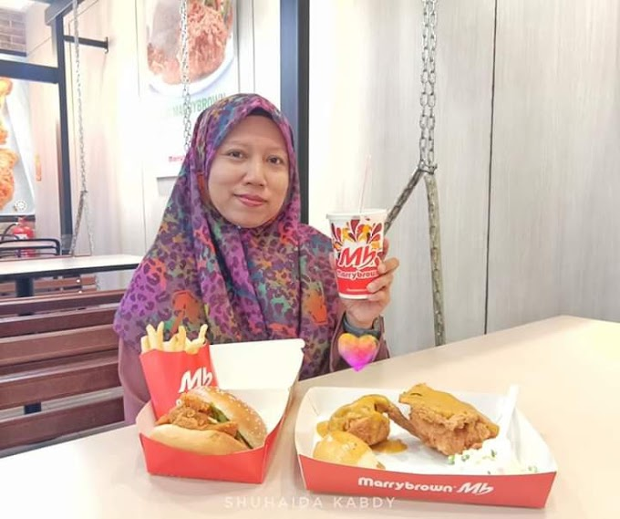 Menu Terbaru Marrybrown Salted Egg Meal Yang Istimewa