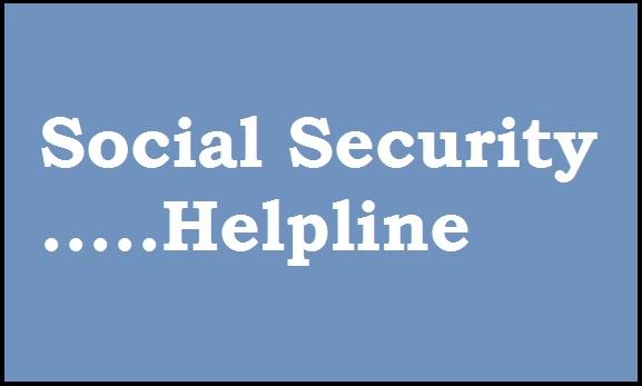 social-security-helpline