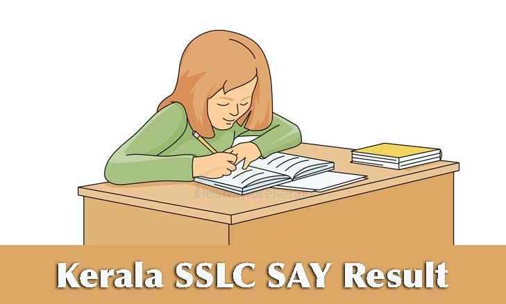 Kerala SSLC SAY Result 2019