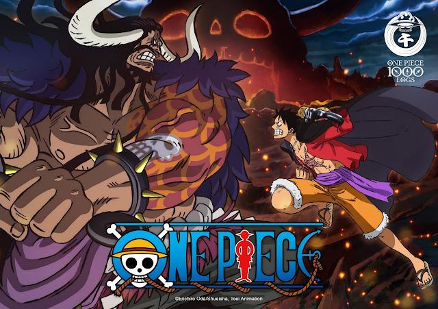 One Piece celebra su episodio 1000 con esta imagen.