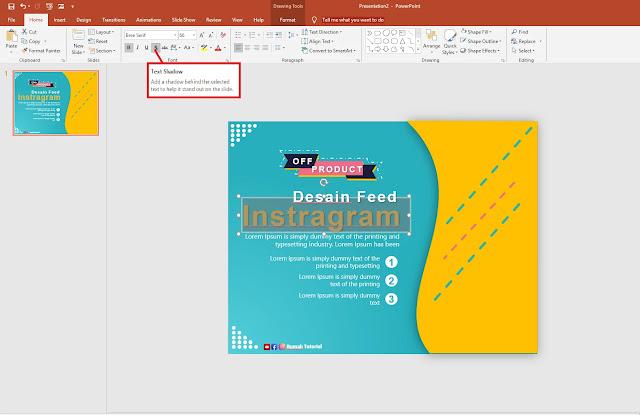 Cara Membuat Feed Instagram Feed Powerpoint Template Dengan Powerpoint