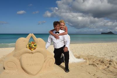 Wedding Sand Sculpture