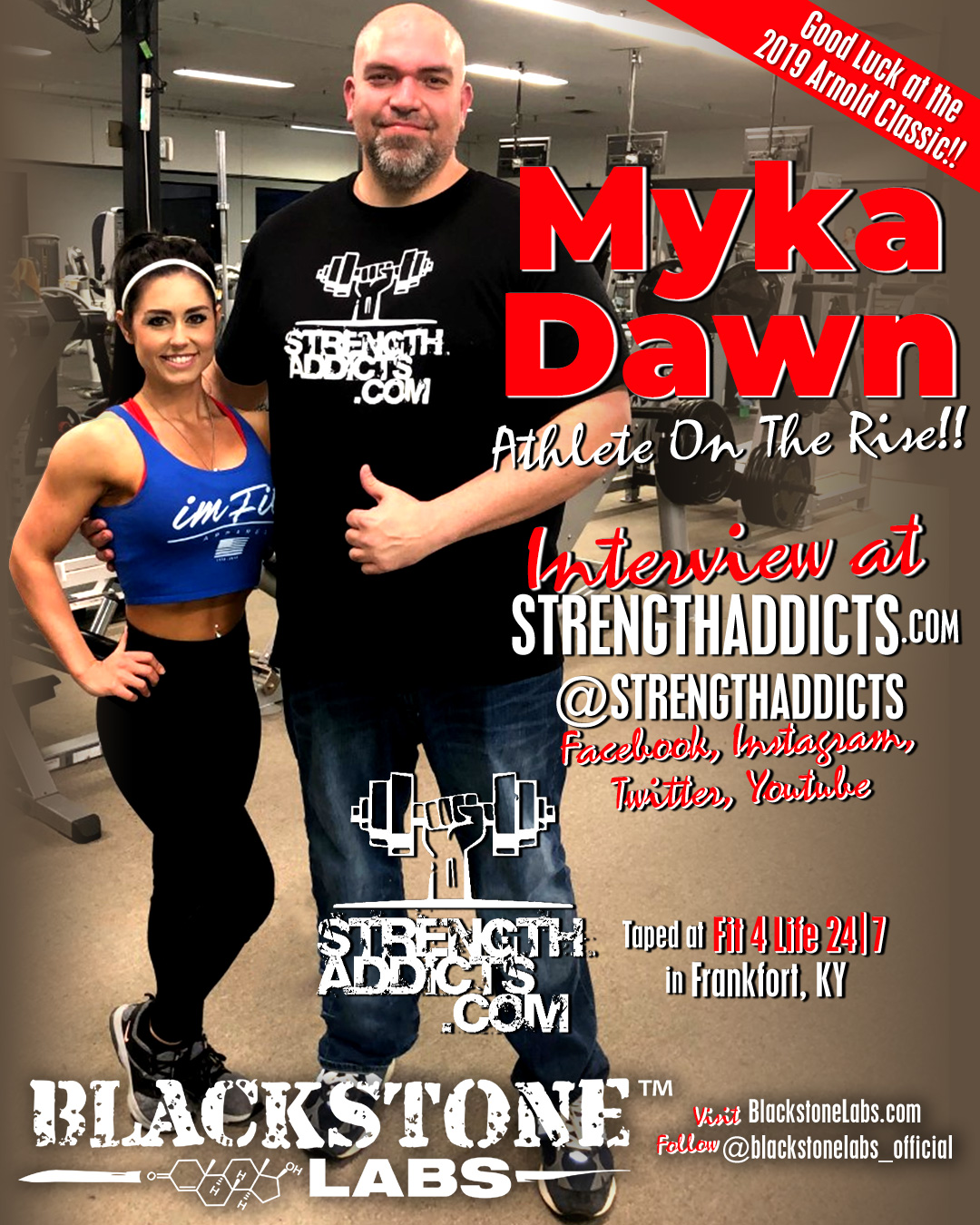 Myka Dawn of Blackstone Labs