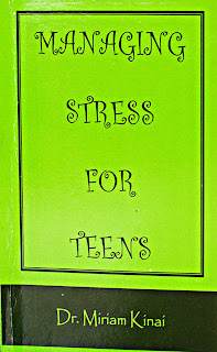 Teenage Stress Management book Managing Stress for Teens