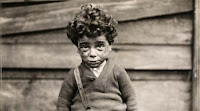 A Child Worker in 1920s, photograph by Lewis Hine