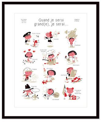 Clod illustration poster Imagerie d'Épinal