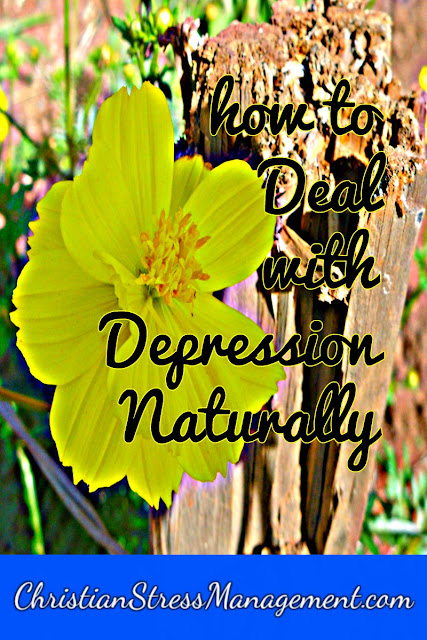How to deal with depression naturally
