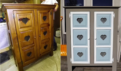 chalk paint before after