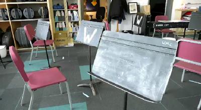 Empty Band room
