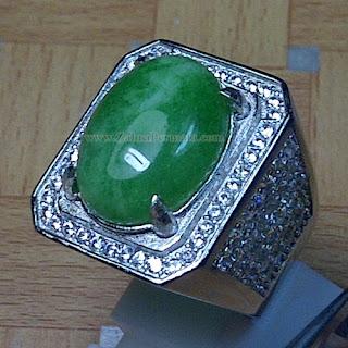 Cincin Batu Giok Jadeite Jade - ZP 867