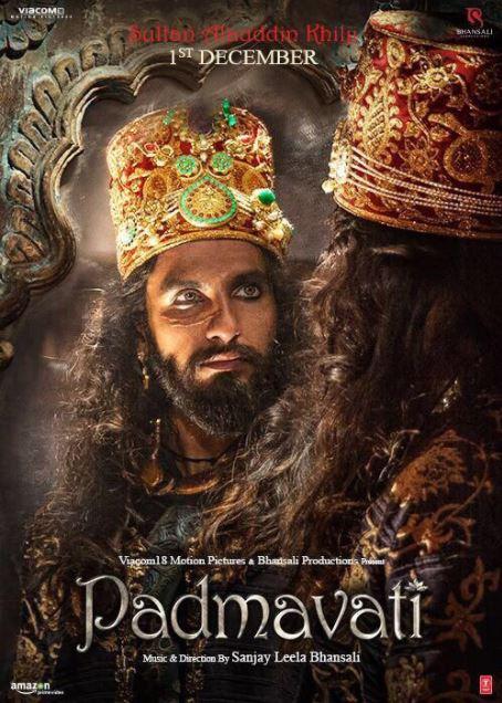 Sultan-Allauddin-Khilji-Padmavati-1st-Look-Posters-Ranveer-Singh-Image-1