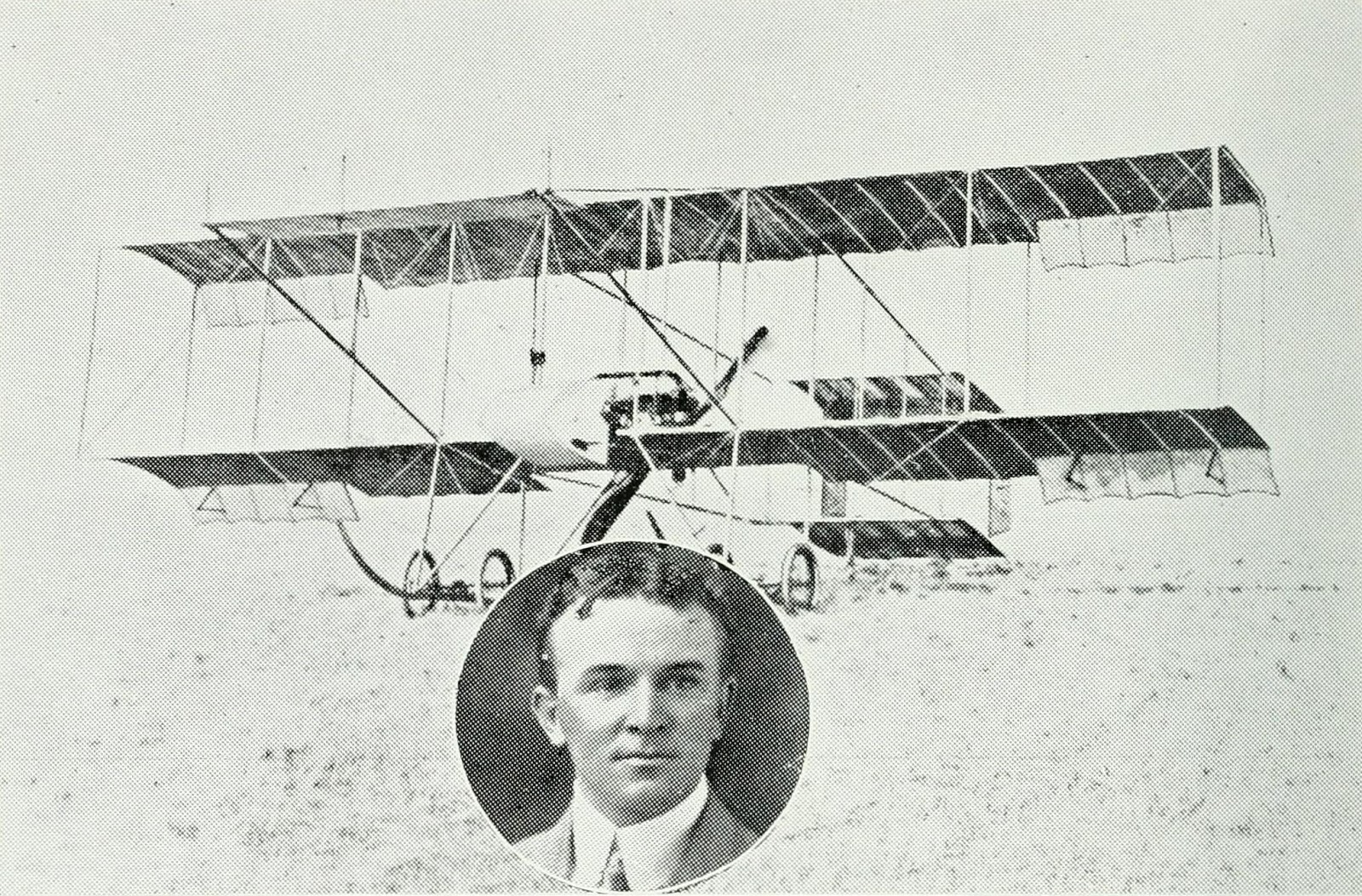 William Ewart Hart, First Australian Aviator, Born Parramatta, NSW, April 20, 1885