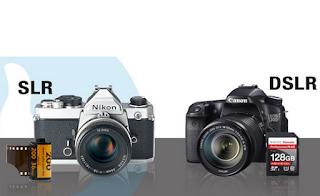Perbedaan kamera DSLR dan SLR yang harus kamu tahu