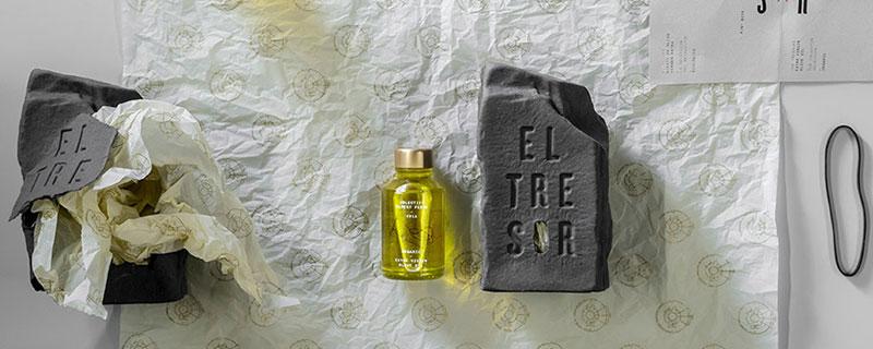 Tresor, packaging rompedor para un aceite de oliva exclusivo
