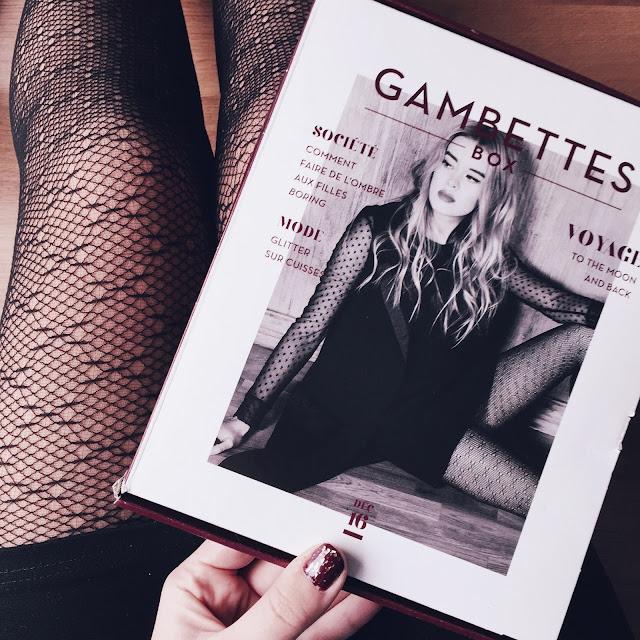 Gambettes box décembre