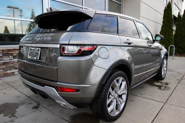 Range Rover Evoque ganha nova versão topo de linha