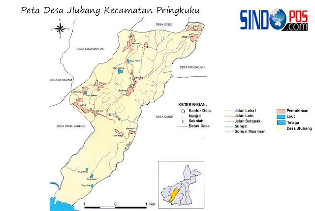 Profil Desa & Kelurahan, Desa Jlubang Kecamatan Pringkuku Kabupaten Pacitan