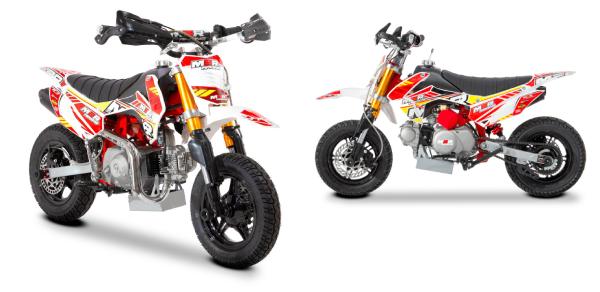 M2R Racing 90R 90cc Semi-Automatic Mini Supermoto Pit Bike