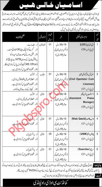 Pakistan Army Jobs 2021