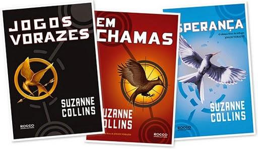 Novo livro de Jogos Vorazes