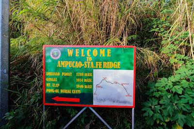 Signages Ampucao Barangay Itogon Benguet Cordillera Administrative Region Philippines