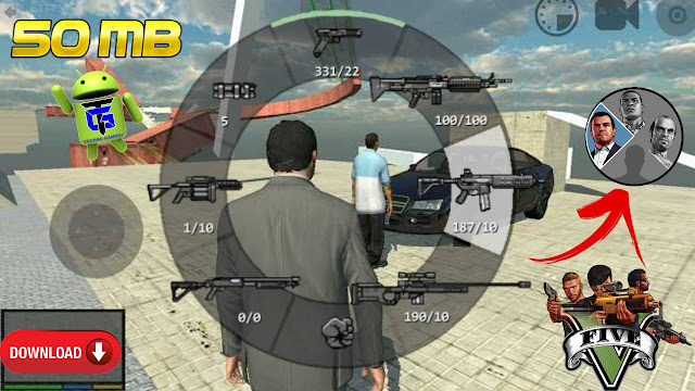 تحميل لعبة GTA 5 Unity Android APK Game Download