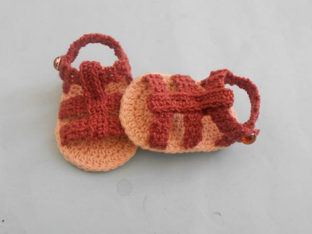 4e4be4266 Crochet - Crosia Free Patttern with Video Tutorials  Boy Flap Sandals