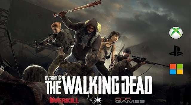 """Overkill's The Walking Dead"" Game bắn súng sinh tồn kinh dị 2018"