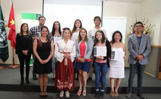 Instituto Confucio UST Osorno certificó a alumnos de Chino Mandarín