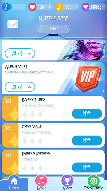 cheat piano tiles 2 album vip terbuka