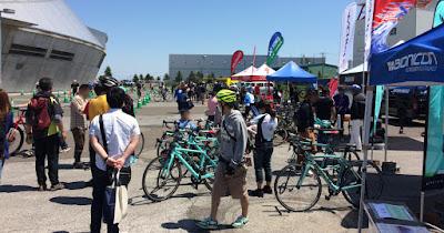北海道スポーツサイクルフェスティバルが終わり、また新しいお客様が増えました!