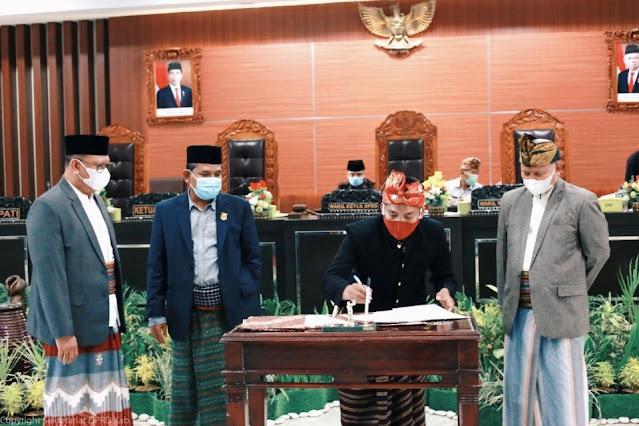 Bupati dan DPRD Lotim sepakati perubahan KUA PPAS 2021