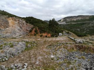 Sierra del Dobra desde Mina Nieves, Viérnoles, Cantabria