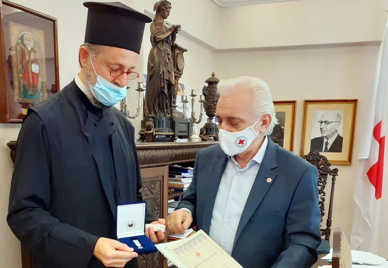 Βράβευση του κληρικού της Μητρόπολης Αλεξανδρουπόλεως Αρχιμανδρίτη Αποστόλου Καβαλιώτη