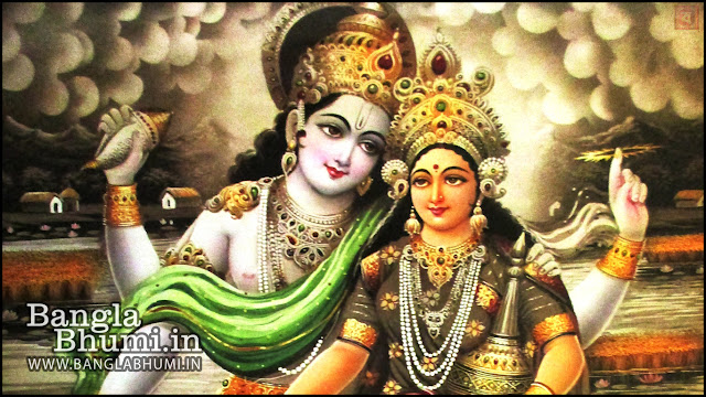 Laxmi Narayan Indian God 1366x768 Wide Wallpaper