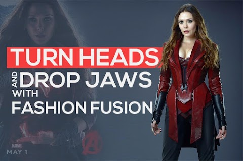 Turn Heads and Drop Jaws with Fashion Fusion