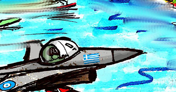 ΑΠΙΣΤΕΥΤΟ: Πώς έφτασαν αθέατα τα Ελληνικά F-16 στην Κύπρο