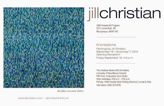 Impressions: Paintings by Jill Christian, Sept. 19-Nov. 7, 2014