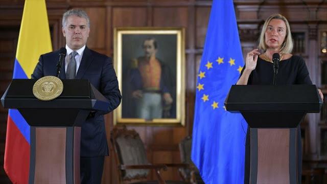 Unión Europea llama a mantener la presión contra Venezuela