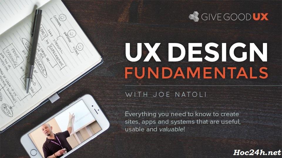 Thiết kế trải nghiệm người dùng cơ bản (UX Design Fundamentals)