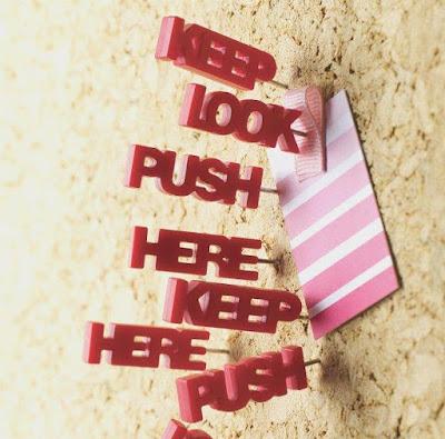 Tell Tale Pushpins