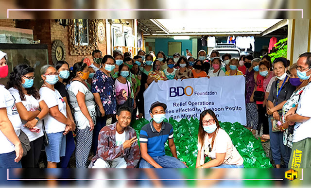 BDO relief Gizmo Manila