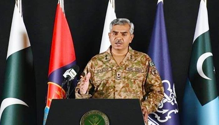 ISPR boss says Pakistan to react with full may to any of India's misfortunes