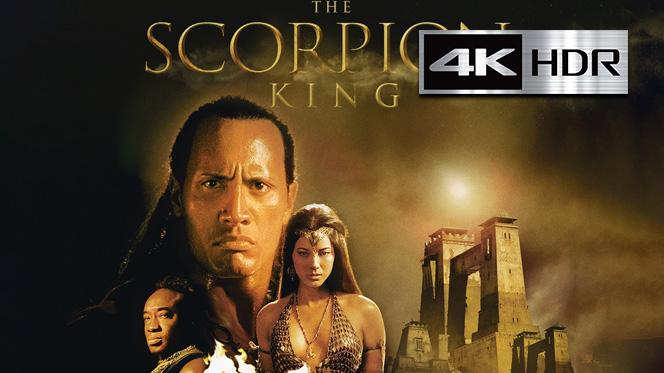 El Rey Escorpión (2002) 4K UHD [HDR] Latino-Castellano-Ingles
