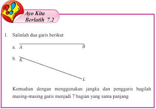 Jawaban Ayo Kita Berlatih 7.2 Bab 7 Halaman 129 Kelas 7 (Garis Dan Sudut)