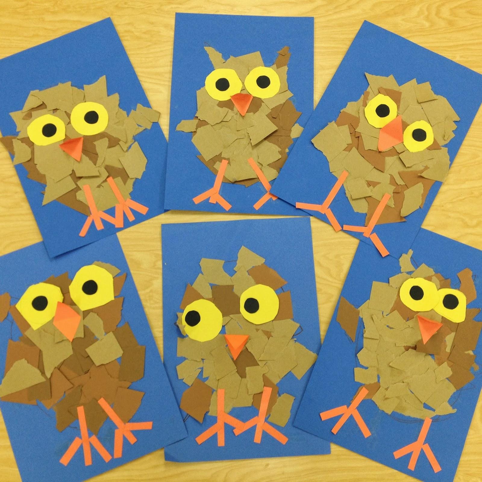 Owl Activities For A Owl Preschool Theme